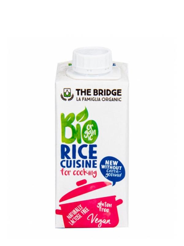 Ryžová alternatíva smotany Bio THE BRIDGE 200 ml