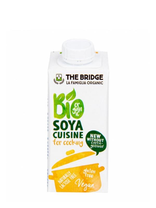 Sójová alternatíva smotany Bio THE BRIDGE 200 ml