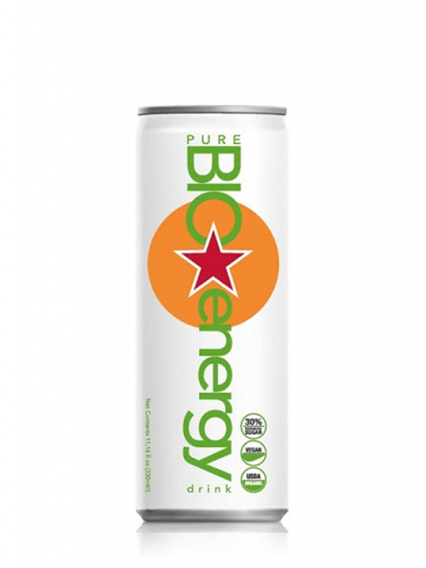 Energy nápoj Pure Bio Energy 330 ml