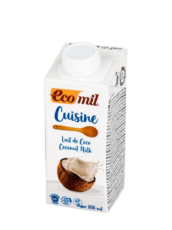 Kokosová alternatíva smotany Ecomil 200 ml