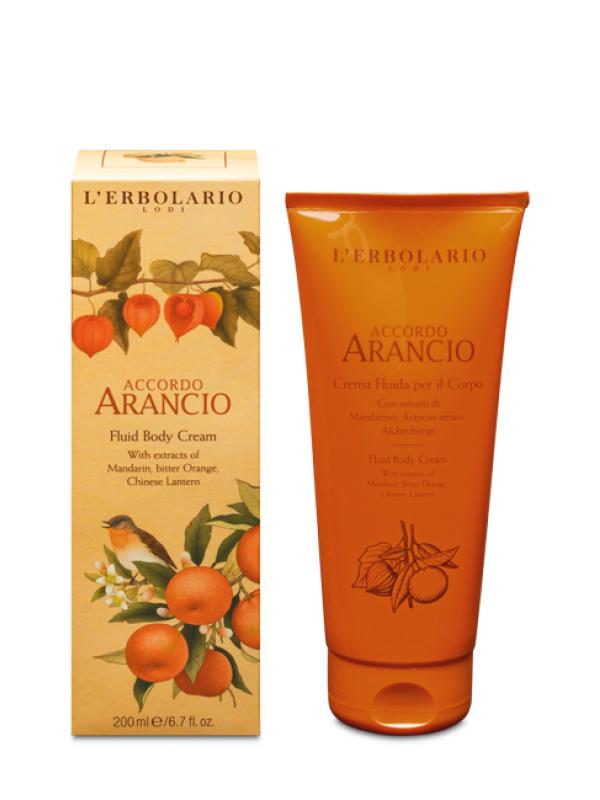Accordo Arancio tekutý telový krém 200 ml