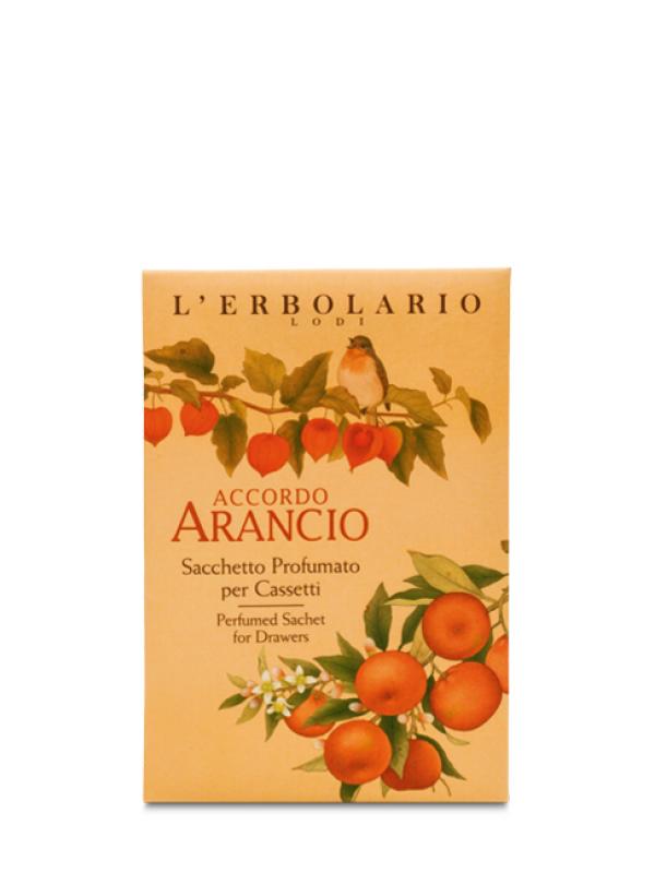 Accordo Arancio parfumované vrecúška do zásuviek L Erbolario