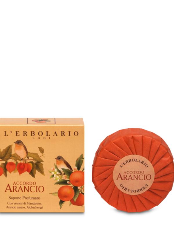 Accordo Arancio tuhé mydlo L Erbolario 100 g