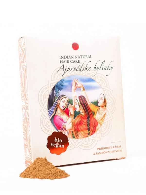 Ajurvédske bylinky - prírodný balzam na vlasy Indian Natural 200 g