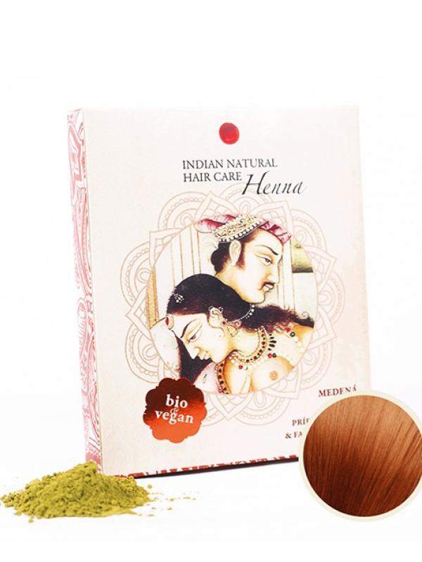 Henna & Indigo - medená farba na vlasy Indian Natural 200 g