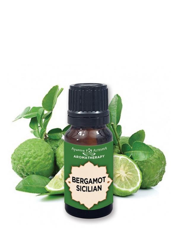 100% esenciálny olej - bergamot ALTEVITA 10 ml