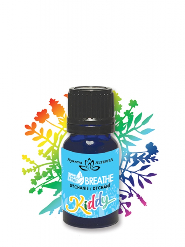 100% esenciálna zmes - kiddy breathe ALTEVITA 10 ml