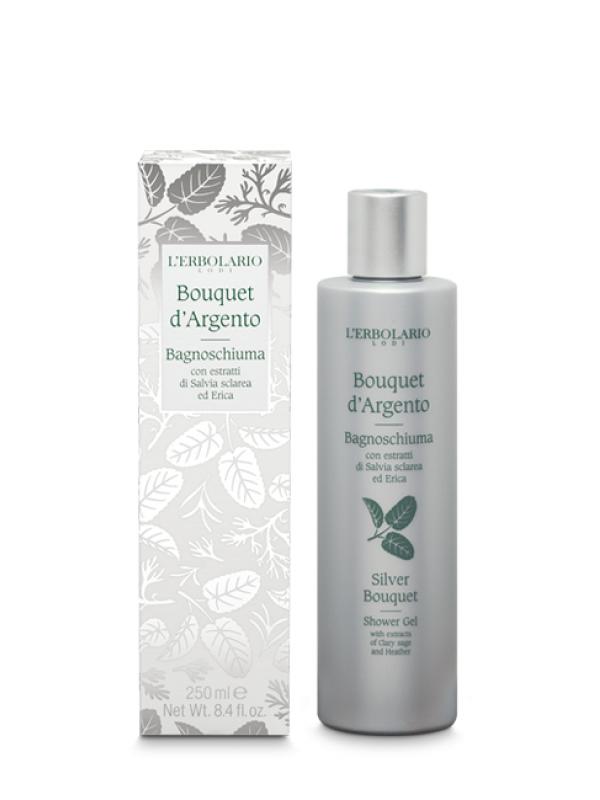 Bouquet d´ Argento sprchový gél L Erbolario 250 ml