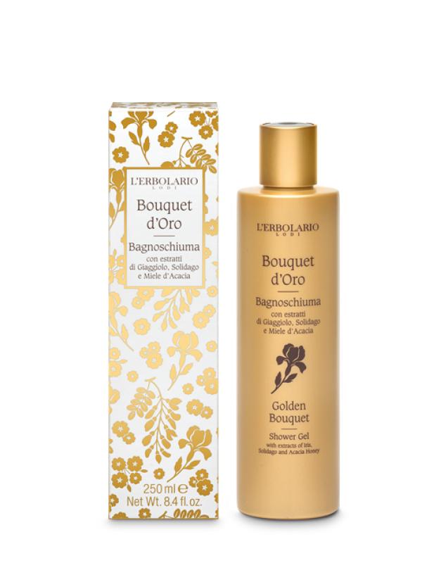 Bouquet d´ Oro sprchový gél L Erbolario 250 ml