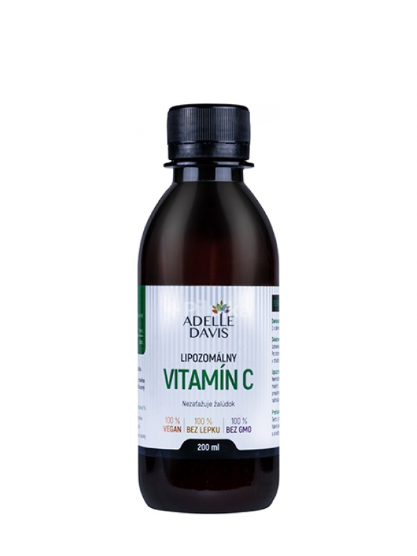 Lipozomálny vitamín C Adelle Davis 200 ml