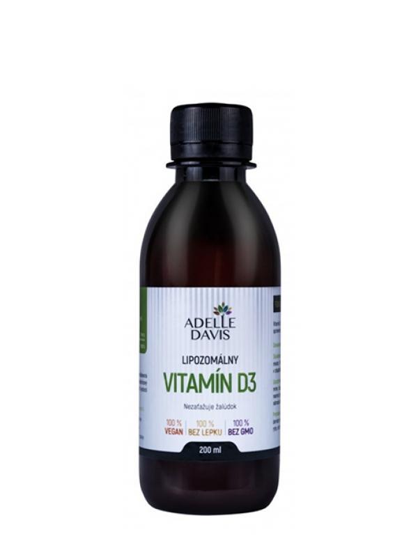 Lipozomálny vitamín D3 Adelle Davis 200 ml