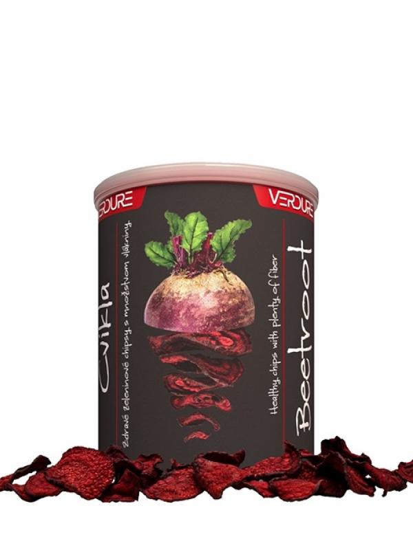 Zeleninové chipsy - cvikla VERDURE 60 g