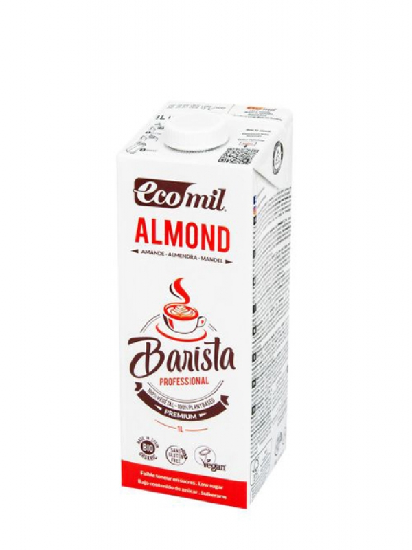 Mandľový nápoj Barista ECOMIL 1 l