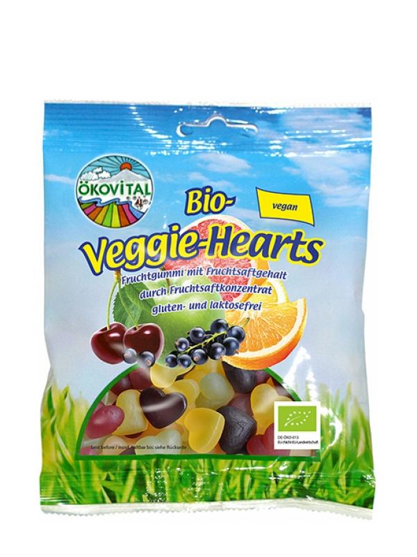 Želé srdiečka BIO vegan ÖKOVITAL 100 g